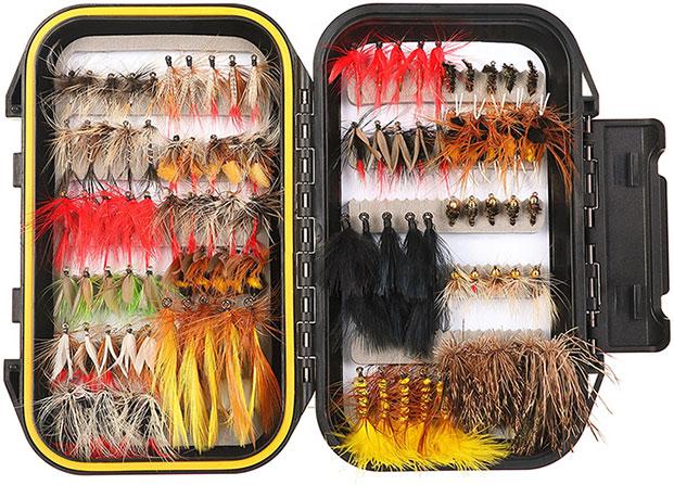 Набор мушек для нахлыстовой рыбалки