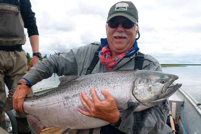 Особенности ловли чавычи на Аляске