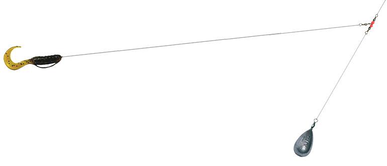 Отводной поводок - описание, как сделать оснастку на щуку, судака, окуня