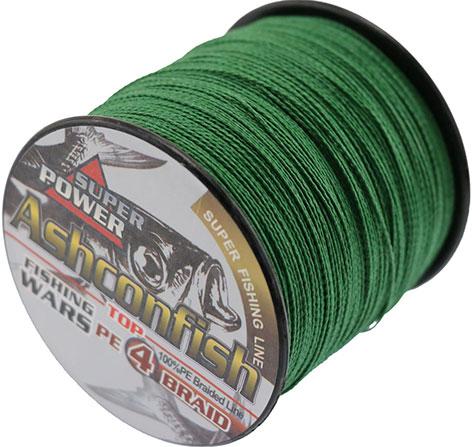 Плетеная нить для фиксации крючка