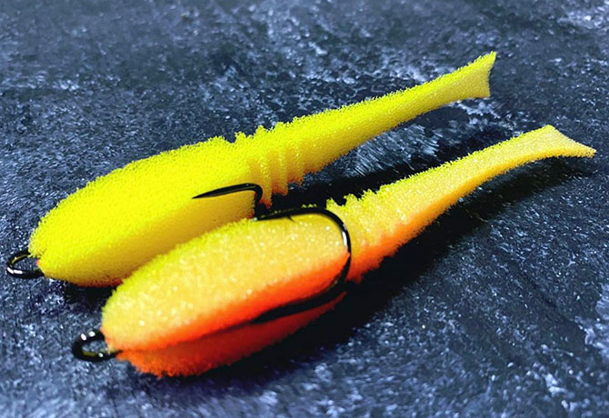 Поролоновая рыбка