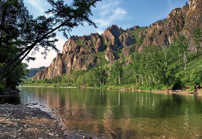 Реки Хакасии где водится таймень