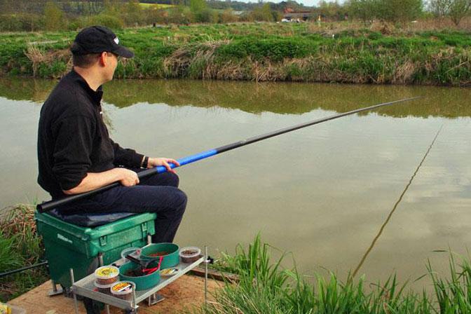 Рыбалка на удочку с берега
